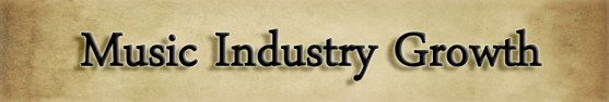 music industry growth
