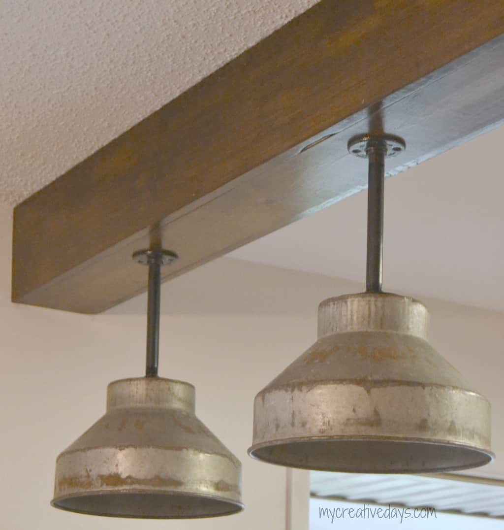 diy kitchen light fixtures part 2 kitchen light fixtures Pin this DIY Kitchen Light Fixtures Part 2 mycreativedays com