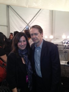 Ta-da. Me and Steve Buscemi. I actually think we took a pretty great photo together.