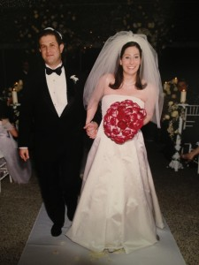 And, then there's this one. I look like I'm dragging Mark to his impending doom. Why didn't we switch hand positions? This has bugged me for the past 13 years.