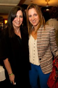 That's Jen and I at the Mom Mogul Breakfast. (Copyright Heidi Green Photography 2013.)
