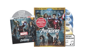 avengers 300x189 Avenger Deals: 4 Disc Blu Ray Combo Pack Only $20