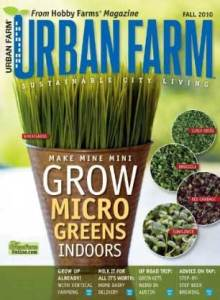 urbanfarm 220x300 (Ended) Urban Farm Magazine ~ One Year Subscription Only $4.50