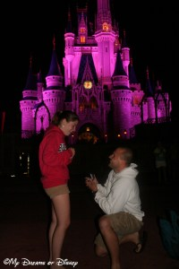 Magic Kingdom, Cinderella Castle, Shane, Stephanie