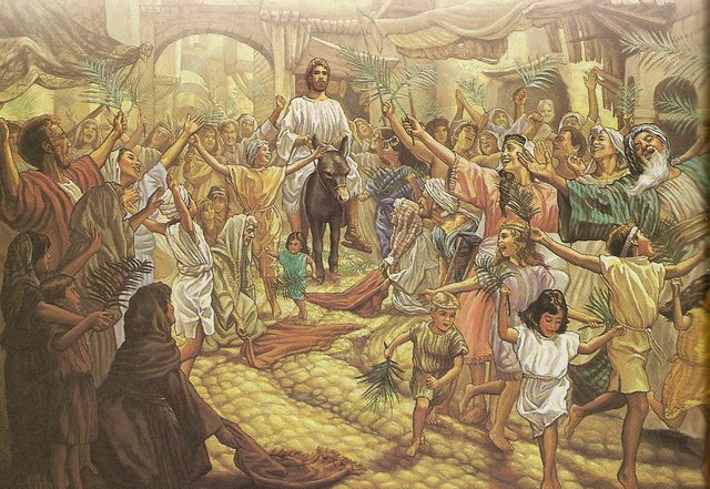 Prayers for the Week - Jesus' Triumphant Entry!