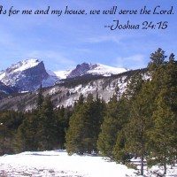 Prayers for the Week - We Will Serve the Lord