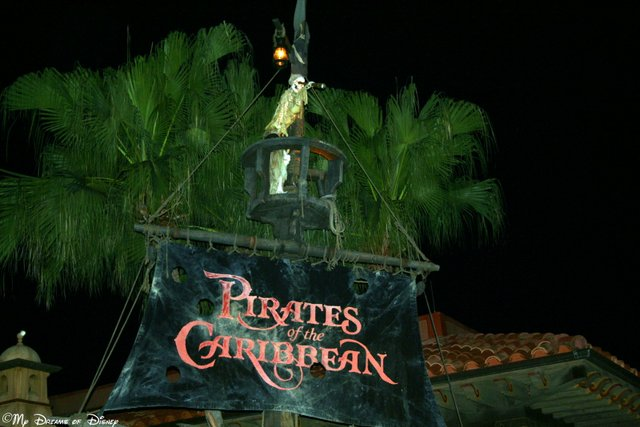 Pirates of the Caribbean has many unique features to beat the rain!