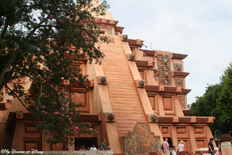 Magical Blogorail: The Mexico Pavilion!