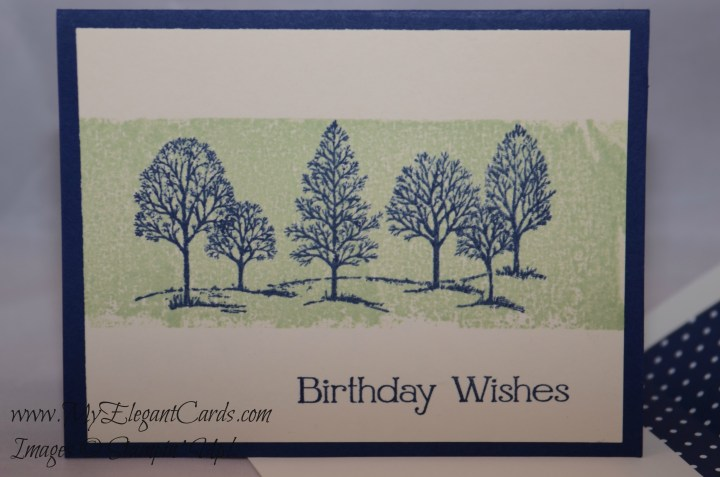 Stampin' Up! Lovely as a Tree and Four You