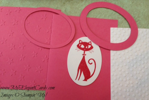 pink cat in progress