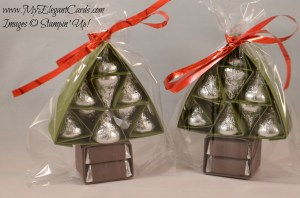 hersheys kisses trees