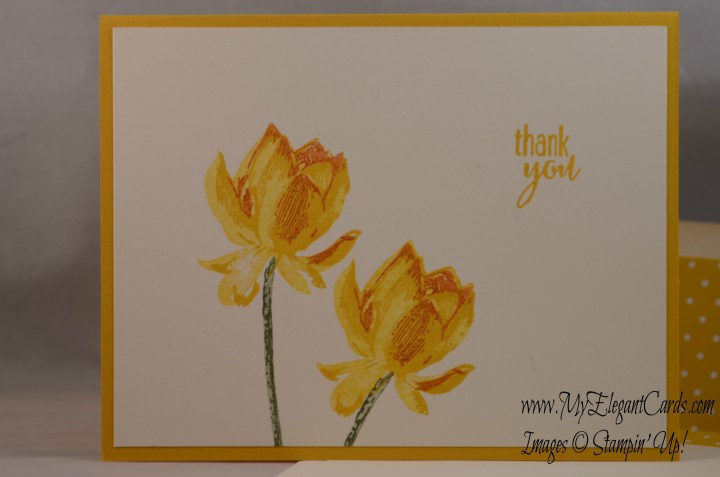 Stampin' Up Lotus Blossom