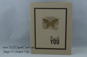 Stampin' Up! Painted Petals, Work of Art, Papillon Potpourri