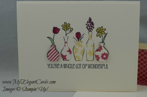 Stampin' Up! Vivid Vases