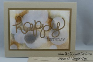 Stampin' Up! Hello You thinlits dies and Crazy About You
