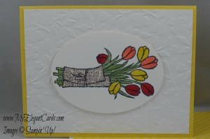 Stampin' Up! Love is Kindness and Spring Flowers TIEF
