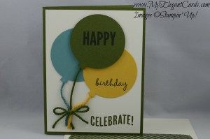 Stampin' Up! Celebrate Today