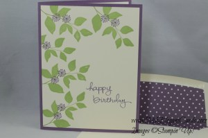 Stampin' Up! Summer Silhouettes and Endless Birthday Wishes