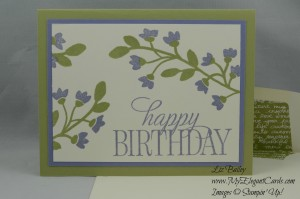 Stampin' Up! Happy Birthday, Everyone and Bountiful Border