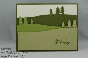 Stampin' Up! Sleigh Ride Edgelits Framelits and Endless Birthday Wishes