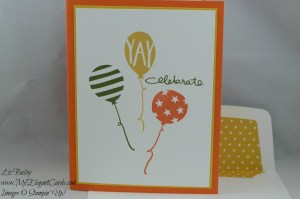 Stampin' Up! Birthday Bash