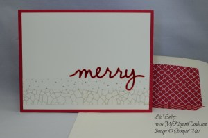 Stampin' Up! Christmas Greetings thinlits