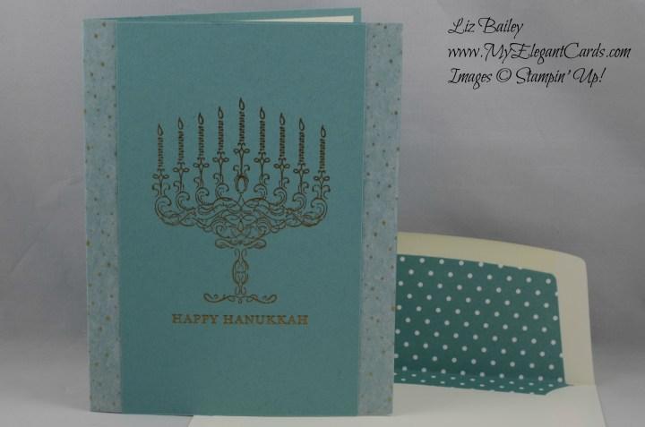 Stampin' Up! Happy Hanukkah and Winter Wonderland Designer Washi tape