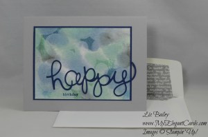 Stampin' Up! Endless Birthday Wishes and Hello You framelits