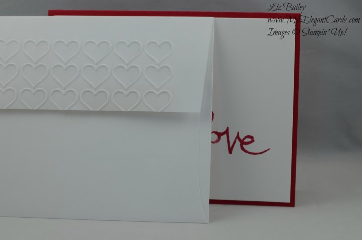 Stampin' Up! Watercolor Words and Happy Hearts TIEF