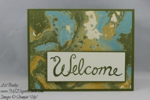 Stampin' Up! Welcome Words and Going Places DSP
