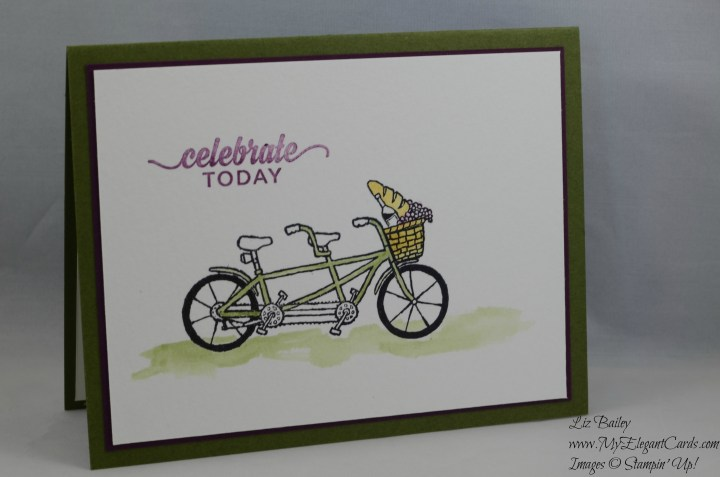 Stampin' Up! Pedal Pusher and Enjoy the little things