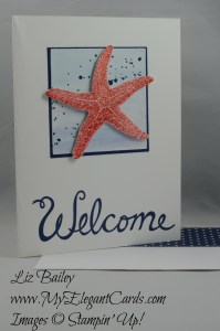 Stampin' Up! Picture Perfect and Gorgeous Grunge and Welcome Words