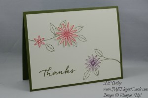 Stampin' Up! grateful bunch watercolor wishes
