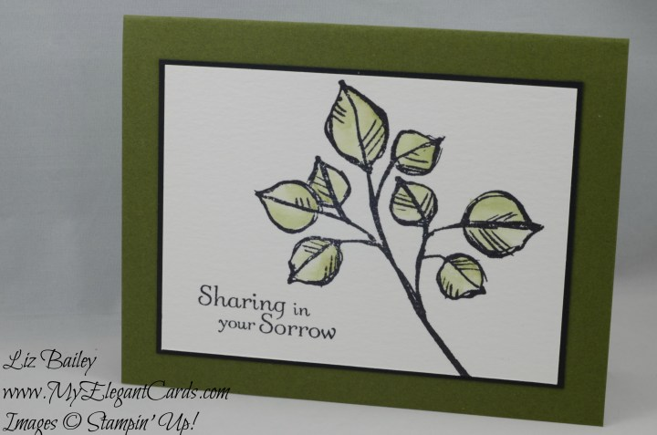 Stampin' Up! Remarkable You and Thoughts and Prayers
