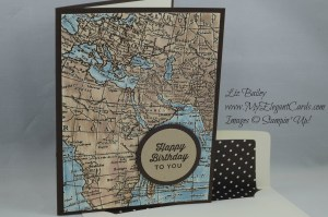 Stampin' Up! World Map and Starburst Sayings