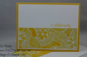 Stampin' Up! Fruit Stand DSP and Endless Birthday Wishes
