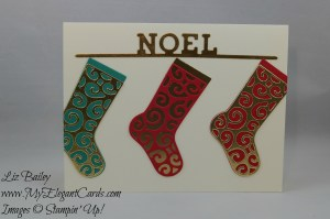 Stampin' Up! Hang Your Stocking - Christmas Stockings Thinlits Dies
