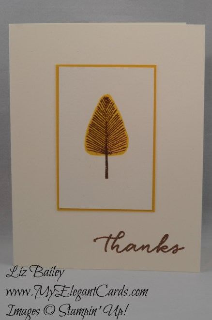 Stampin' Up! Totally Trees