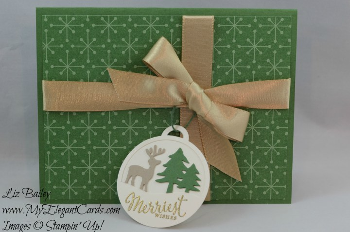 Liz Bailey Stampin' Up! Demonstrator - Merriest Wishes - Merry Tags - This Christmas Specialty DSP