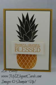 Stampin' Up! Pineapple - Paisleys & Posies