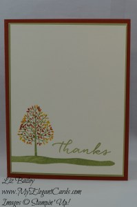 Stampin' Up! Totally Trees and Watercolor Wishes