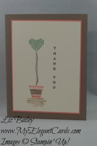 Stampin' Up! Vertical Greetings
