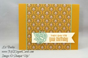 Liz Bailey Stampin' Up! Demonstrator - Paisley Framelits Dies - Petals and Paisleys Specialty DSP - Suite Sayings