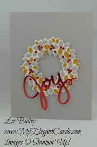 Liz Bailey Stampin' Up! Demonstrator - Wondrous Wreath