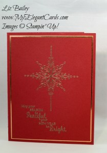 Star of Light - Liz Bailey Stampin' Up! Demonstrator