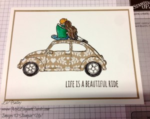 Liz Bailey Stampin' Up! Demonstrator - Beautiful Ride