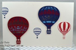 Liz Bailey Stampin' Up! Demonstrator - Up & Away Thinlits Dies- Lift Me Up
