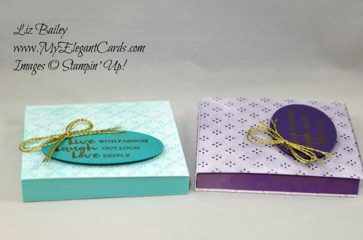 Liz Bailey Stampin' Up! Demonstrator - Beautiful You - Fancy Frost DSP