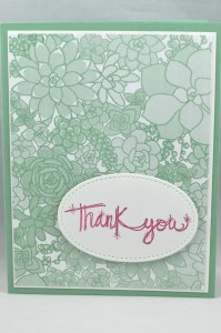 Liz Bailey Stampin' Up! Demonstrator - Succulent Garden DSP - Love Sparkles - Stitched Shapes Framelits Dies