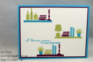 Liz Bailey Stampin' Up! Demonstrator - Bookcase Builder
